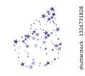 falling stars confetti...   Shutterstock .eps vector #1326731828