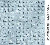 ice pattern. seamless... | Shutterstock . vector #132677312