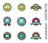 vintage retro vector logo for... | Shutterstock .eps vector #1326782735