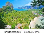 stunning view on railay bay in... | Shutterstock . vector #132680498