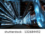 industrial zone  steel... | Shutterstock . vector #132684452
