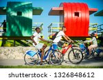 miami   july 2017  tourists... | Shutterstock . vector #1326848612