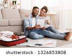 weekends getaway. couple... | Shutterstock . vector #1326853808