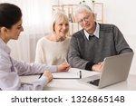 older couple considering new...   Shutterstock . vector #1326865148