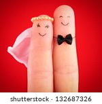 just married concept  ... | Shutterstock . vector #132687326