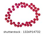 horizontal close up shot of red ... | Shutterstock . vector #1326914732