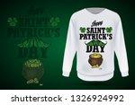 lettring for saint patricks day ... | Shutterstock .eps vector #1326924992