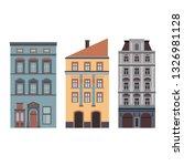 beautiful detailed cityscape... | Shutterstock . vector #1326981128