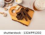 fried garlic croutons | Shutterstock . vector #1326991202