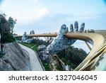 ba na hills. da nang  vietnam   ... | Shutterstock . vector #1327046045