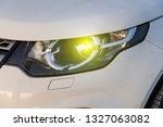 car headlight background   Shutterstock . vector #1327063082