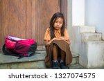 7 or 8 years child in school...   Shutterstock . vector #1327074575