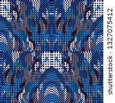 quirky tapestry pattern.... | Shutterstock .eps vector #1327075412
