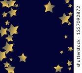 stars confetti vertical border. ... | Shutterstock .eps vector #1327092872