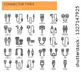 Connector Types   Thin Line An...