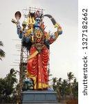 statue of hindu goddess kali ...   Shutterstock . vector #1327182662