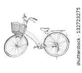 Old Bicycle   Sketch...