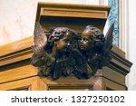 saint petersburg  russia ... | Shutterstock . vector #1327250102