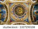 saint petersburg  russia ... | Shutterstock . vector #1327250108