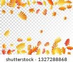 oak  maple  wild ash rowan... | Shutterstock .eps vector #1327288868