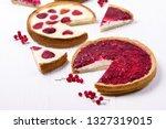 beries pie tasty homemade... | Shutterstock . vector #1327319015