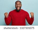 good news  success and...   Shutterstock . vector #1327331075