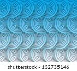 Circles Flow. Eps10  Rgb.