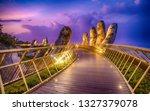 ba na hills. da nang  vietnam   ... | Shutterstock . vector #1327379078