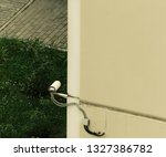 outdoor surveillance camera | Shutterstock . vector #1327386782