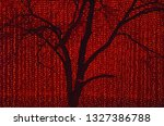 black in red | Shutterstock . vector #1327386788