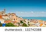 bairro alto as seen from the... | Shutterstock . vector #132742388