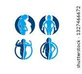 illustration of body changes ...   Shutterstock .eps vector #1327466672
