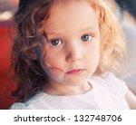 Close Up Portrait Of Adorable ...
