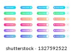 read more button set with...   Shutterstock .eps vector #1327592522