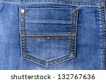 items of clothing buttons ... | Shutterstock . vector #132767636