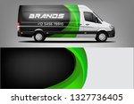 sport car racing wrap design....   Shutterstock .eps vector #1327736405