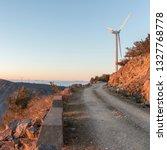 windmill mountain power plant   Shutterstock . vector #1327768778