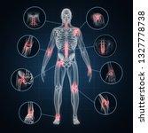 X Ray Full Body Of Human...