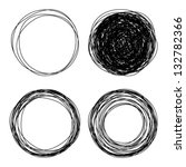 Hand Drawn Circles  Vector Log...