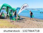 tauranga new zealand   march 3  ...   Shutterstock . vector #1327864718
