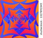 color geometric pattern.... | Shutterstock .eps vector #1327892345