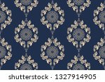 seamless wallpaper pattern in... | Shutterstock .eps vector #1327914905