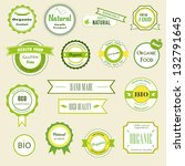 set of labels  logos and... | Shutterstock .eps vector #132791645