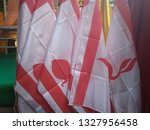 scout flag  indonesian scouting  | Shutterstock . vector #1327956458