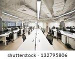 office work place | Shutterstock . vector #132795806
