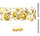 easter background with... | Shutterstock .eps vector #1327966082