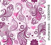 Pink Purple Repeating Vintage...
