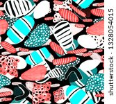 creative seamless pattern with... | Shutterstock . vector #1328054015