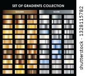 gold and silver gradient. mega... | Shutterstock .eps vector #1328115782