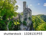 road trip in may castle...   Shutterstock . vector #1328131955